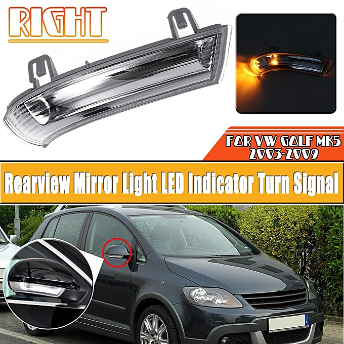 Buy Generic Right Rearview Mirror Light Led Indicator Turn Signal