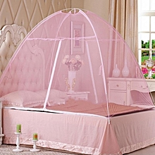 Elegant Tent mosquito net for 4*6 Bed -Pink