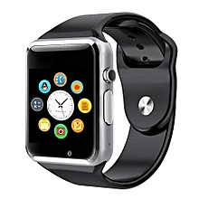 A1 Smart Watch Clock Sync Notifier Support SIM TF Card Connectivity Apple iphone Android Phone Smartwatch