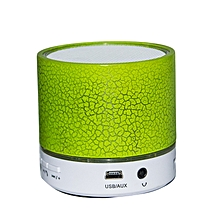 Bluetooth Speaker - Round Shape - Green