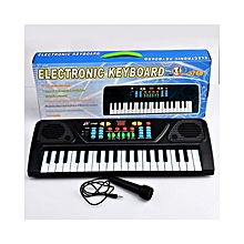 37 Key Electronic Keyboard Piano Musical Toy for Children 3768 - Black