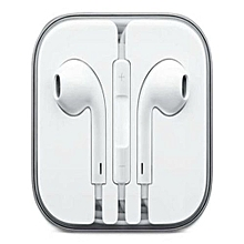 iPhone 6 / 6S / 6 Plus Earphones - White
