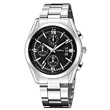 2d0fec432 Men's Stainless Steel Quartz Analog Date Wrist Watch Sport Watches  Gifts