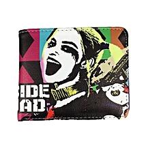 DC Comics Suicide Squad Harley Quinn Bi-Fold Wallet - Multicolor