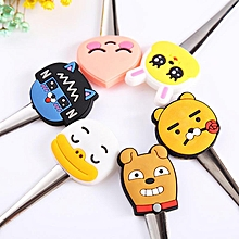 Lovely Cartoon Kitchen Cooking Tools Silicone Stainless Steel Spoon
