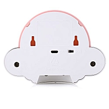 YouOKLight DC 5V 1W Flying Saucer UFO Shaped LED Night Light Motion Sensor Lamp-PINK
