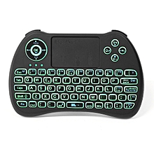 iPazzPort KP-810-21Q 2.4G Wireless Italian Three Color Backlit Mini Keyboard Touchpad Air Mouse