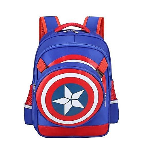 3D Boy Or Girl's Waterproof School Bag Kids Backpacks(Color:Main Pic)