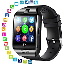 Bluetooth Smart Watch Men Q18 With Touch Screen Big Battery Support TF Sim Card Camera for Android Phone HT