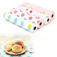 1 PCS A roll of anti-slip kitchen cupboard liner mat drawer liner table mat ( Random Colors )