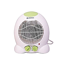 Room Fan Heater - White & Green