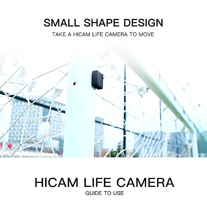 C1S WiFi Mini Camera FHD 1080P Camcorder Night Vision Motion Sensor IP  Webcam Magnetic Adsorption Video Audio Recorder Micro Cam JUN(Black)( add  8G TF