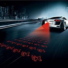 Universal Car Anti-collision Anti Fog Rear Laser Fog Lamp Warming Light for Auto Motor - Fish