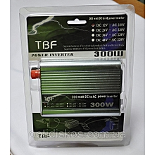 TBE DC/AC Power Inverter - 300W - Silver