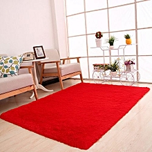 Fluffy Rugs Anti-Skid Shaggy Area Rug Dining Room Home Carpet Floor Mat Hot Pink