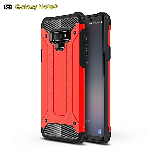 buy online 3f254 0c83a For Galaxy Note 9 Case Hybrid Durable Shield Armor Rugged Shockproof Back  Cover For Samsung Galaxy Note 9 Double Protect Case