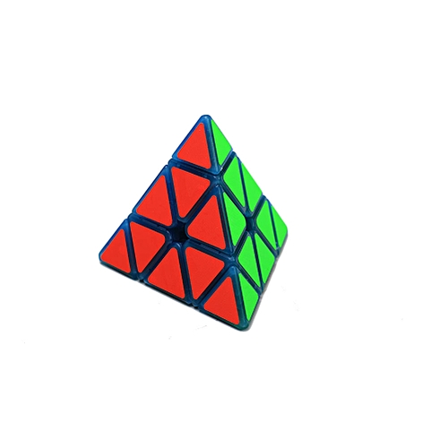 Buy Generic 3x3 Creative Pyramid Luminous Magic Puzzle Cube Frame ...
