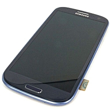 Lcd Screen With Frame Touch Screen Lcd Display Complete Screen Assembly Replacement Parts Blue For Samsung Galaxy I9305