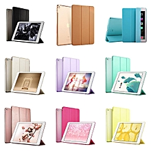 Ultra Slim Light Weight Smart Case Cover Translucent Frosted Back Magnetic Cover with Auto Sleep/Wake Function for iPad Air 2 CHD-Z