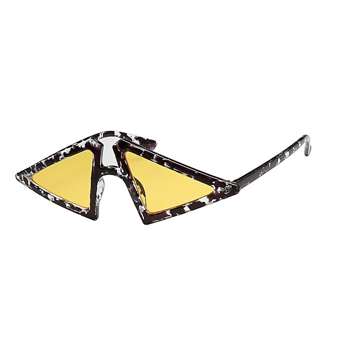 10d4ea9f8707 New Fashion Europe and America triangle sunglasses men and women with the  same sunglasses travel marine