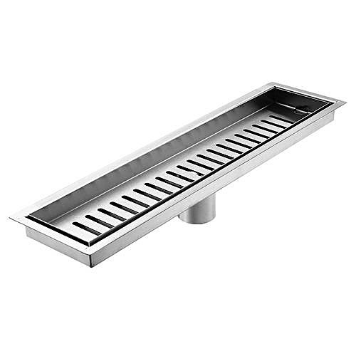 Prime Brushed Stainless Steel Shower Drain Grate Bathroom Floor Drain 40Cmx10Cm D19 4 Download Free Architecture Designs Fluibritishbridgeorg