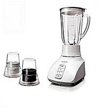 Blender 1.5LTR, 2 MILLS Blender 1.5 ltr (3 Pin) Plastic Jar, 2 Dry Mill