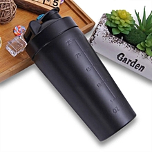 750ML Double Wall Stainless Steel Vacuum Flask Thermos Bottle Protein Shaker Cup