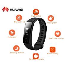 Honor Band 3 Smartband Heart Rate Monitor Calories Consumption Pedometer NFC-BLACK