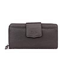 Pure Leather Ladies purse- black