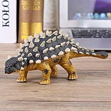 Children Kids Mini Dinosaur Saichania Shape Toy Animal Figure Solid Plastic Toys Model