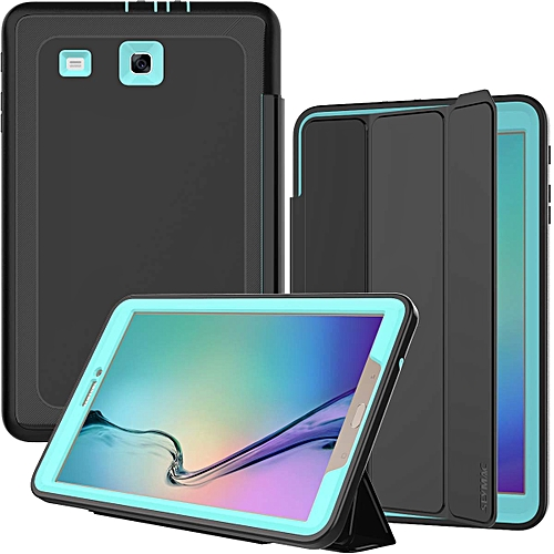 newest 5318b 381e3 Galaxy Tab E 9.6 Case, Full Body [Drop Protection] Rugged Heavy Duty Case  with MagneticFolding Stand Cover Compatible with Samsung Galaxy Tab E 9.6  ...
