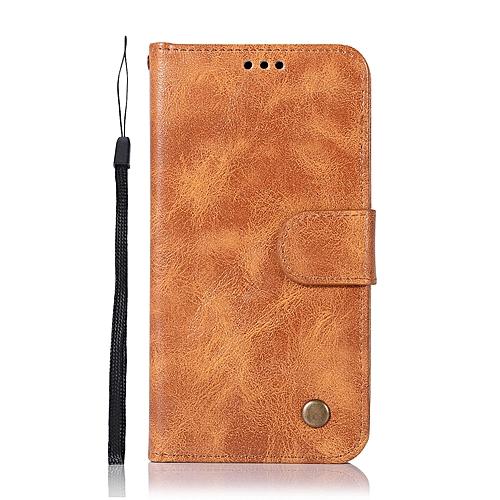 buy popular 148d1 1ace5 Casing For Lenovo K6/K6 Power,Reto Leather Wallet Case Magnetic Double Card  Holder Flip Cover