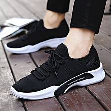 New arrivel Men's trend casual breathable sports wild low-top shoes