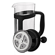 350ML French Press Tea Coffee Maker Presses Filter Plunger Heat-resistant Glass