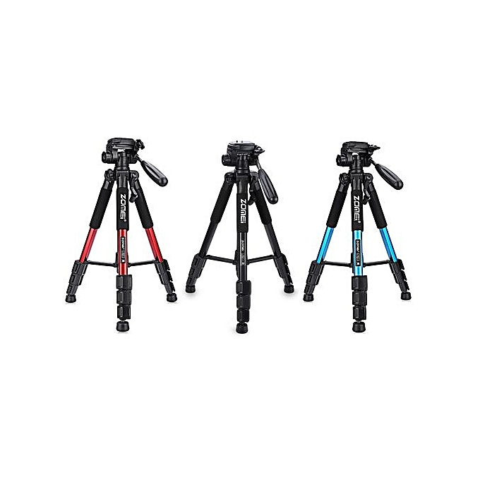 ... Q111 56 Inch Lightweight Professional Camera Video Aluminum Tripod With Bag_RED ...