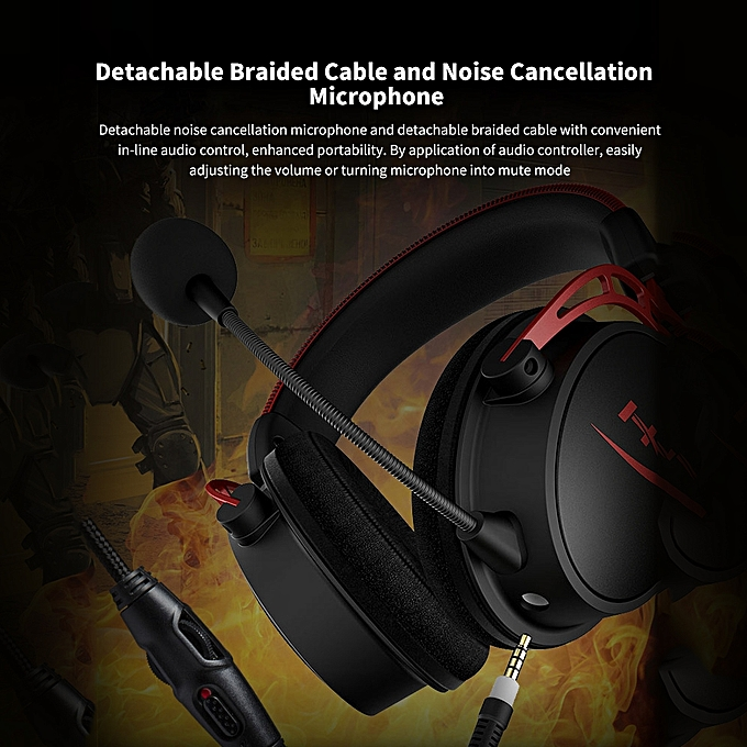 Kingston HyperX Cloud Alpha Pro Gaming Headset for PS4 for Xbox One for  Nintendo Switch PC (HX-HSCA-RD/AS)
