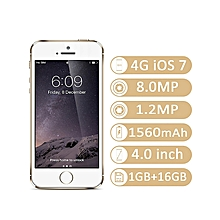 IPhone5S 4.0-Inch 1G+16G 8MP 4G LTE Smartphone–Gold
