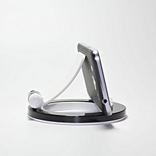 Holder Mobile Phone Stand And Stand Holder  Dock For IPad Tablet For Phones-White