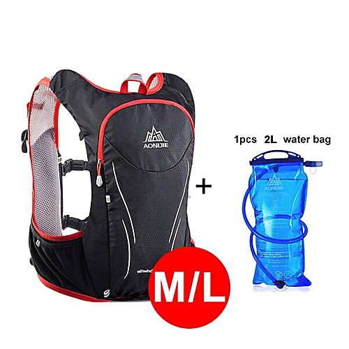 22900a0e09 AONIJIE 5L Women Men Marathon Hydration Vest Pack For 2L Water Bag Cycling  Hiking Bag Outdoor Sport Running Backpack(R ML ADD 2L)