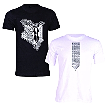 Black and White T-shirt Bundle (2-in-1)