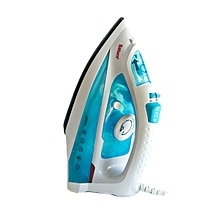 ST-CC0221 Ceramic - Dry/Steam Iron - 2000W - White & Blue..