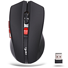 X50 2.4GHz Wireless 6 Buttons Optical Gaming Mouse-BLACK