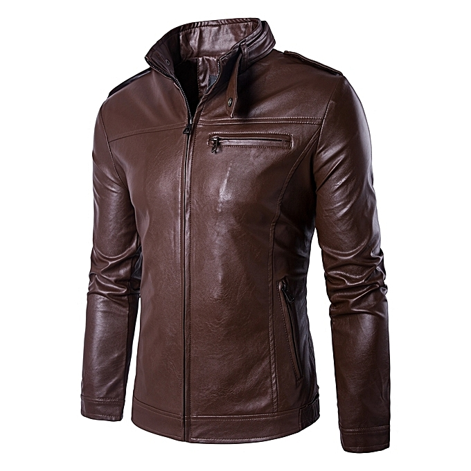 Best Motorcycle Jacket >> Buy Generic 100% Leather Spring Men's Genuine Leather Plus Size Jackets Real Sheepskin Black ...