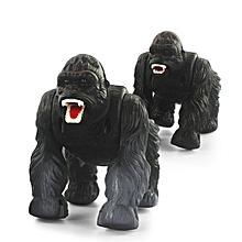 1 Pcs Infrared Remote Control Simulation Orangutan RC Animal Toys 9983-Black