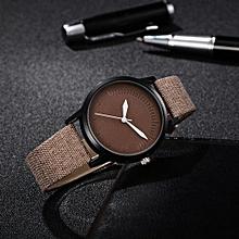GAIETY New Gentleman Women Chic Leather Bracelet Quartz Cowboy Wrist Watch Jewelry-As Picture