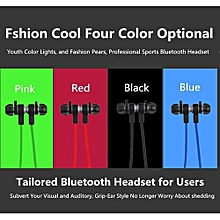 Sport Handfree Headset, U6 Wireless Bluetooth 4.1 Stereo Earphone Fashion Sport Running Headphone(Green)
