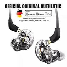 VK1 4DD HIFI DJ Monito Running Sport Earphones Earplug Headset Earbud ZS10 ZS6 xYx-S