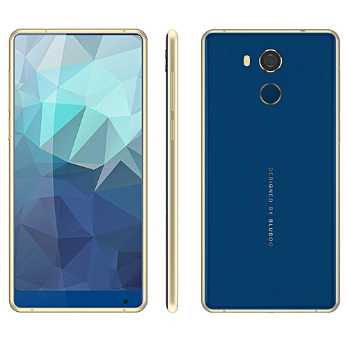 BLUBOO D5 Pro, 3GB+32GB, Fingerprint Identification, 5.5 inch Android 7.0 MTK6737 Quad Core up to 1.3GHz, Network: 4G,  Dual SIM(Blue)