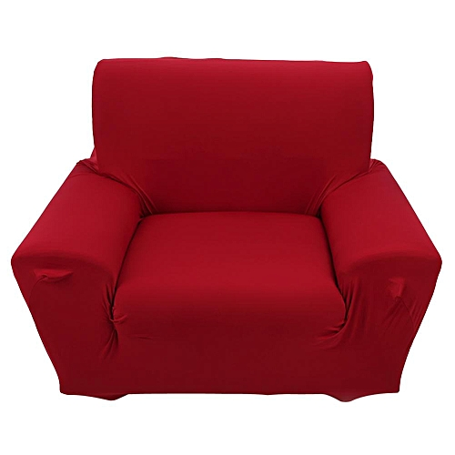 Generic 1 Seater High Elasticity Single Sofa Slipcovers Burgundy   Best  Price  db353af5d