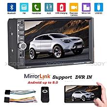 2 DIN 7 quot  Car Stereo Radio Bluetooth MP5 Player Touch Screen Dual USB  ... 67053e1b42b